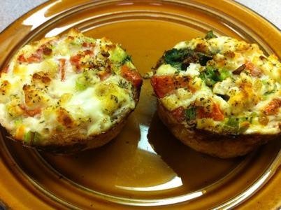 Early Morning Egg White Breakfast Muffins | Work Out Be Happy